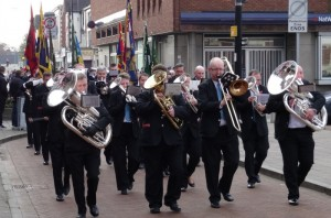 Crewe Remembrance Sunday Parade