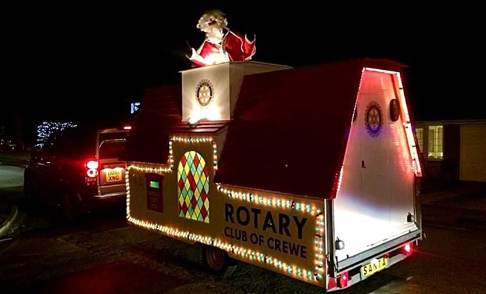 Crewe Rotary Santa's Float
