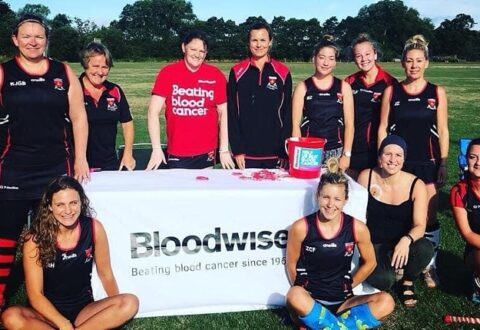 Crewe Vagrants hockey players tackle challenge for stricken team-mate