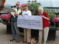 Rising Sun Nurseries boost RSPCA with £8,600 donation