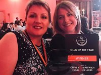 "Crewe & Nantwich RUFC scoops ""Club of the Year"" award"