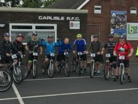 Crewe & Nantwich rugby players complete 86-mile challenge for charity