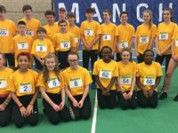 Crewe & Nantwich athletes excel at U13s and U15s sportshall finals
