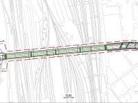 Plans for new bridge over railway at Crewe