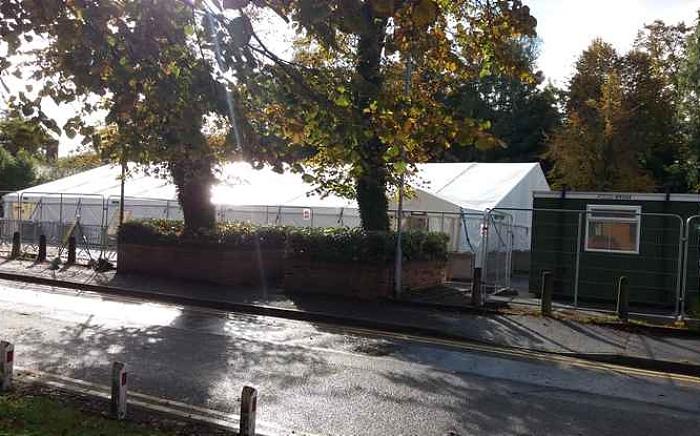 Crewe dual use testing site