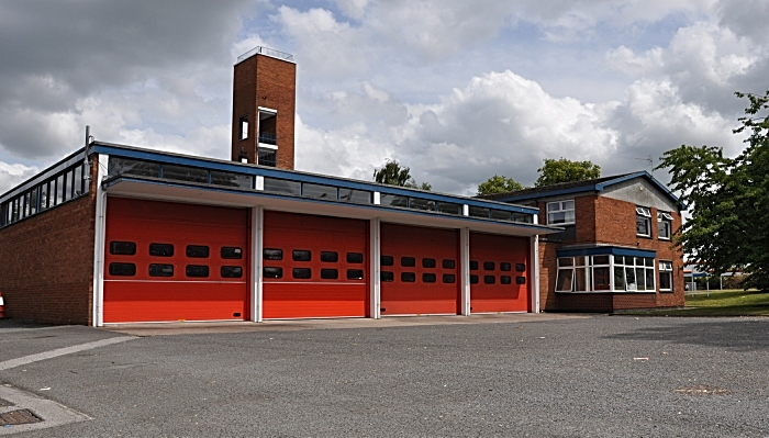 Crewe fire station