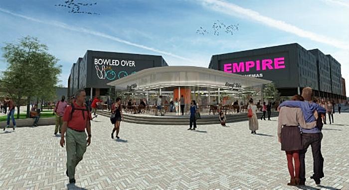 Crewe regeneration - royal arcade