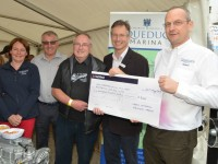 Aqueduct Marina businesses raise £600 for fly-boat Saturn