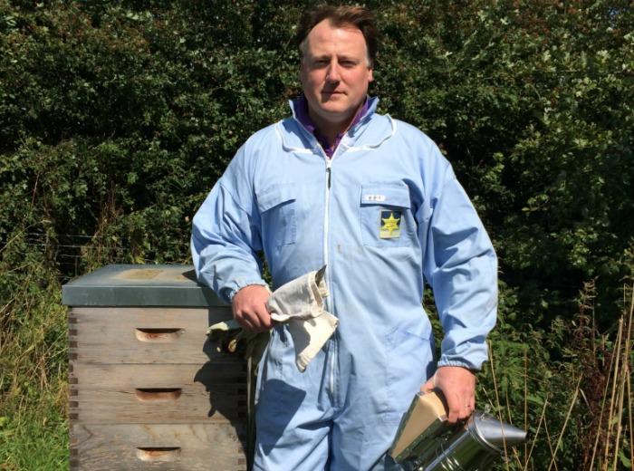 Crispin Reeves Bee Farmer - raw honey sales soar