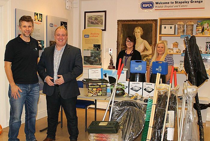 Crystal Legal Services firm donates to RSPCA Stapeley Grange