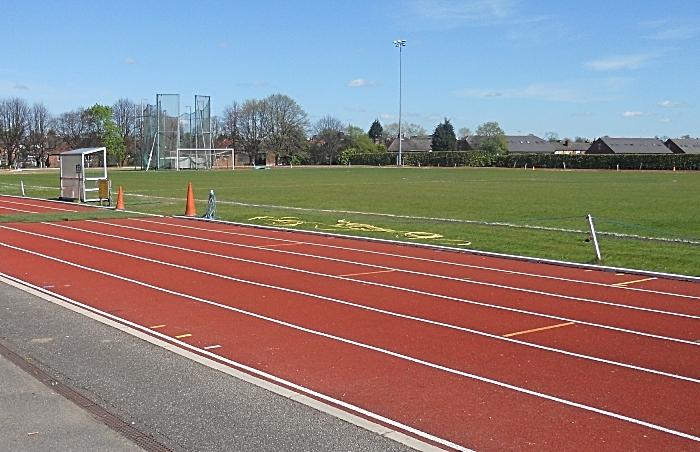 Cumberland Arena track - athletics