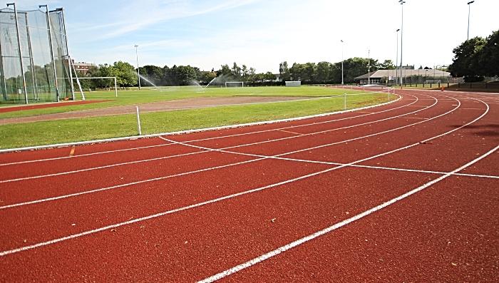 Cumberland Arena track - home of C&N Athletics