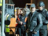 PICTURE SPECIAL: Film star Sean Bean in Crewe on set of Sky TV drama 'Curfew'