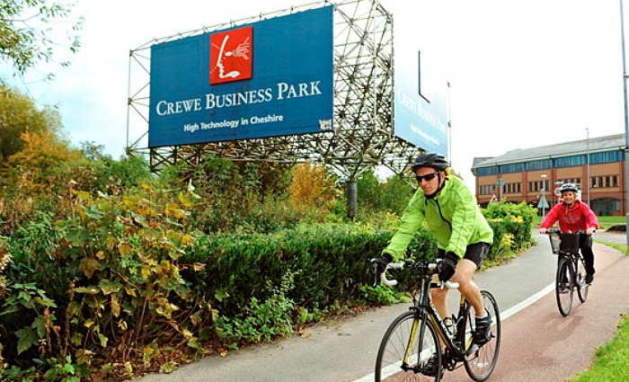 Cycle to Work week for Crewe and Nantwich commuters
