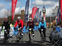 More than 1,500 cyclists take part in Cheshire Cat Sportive