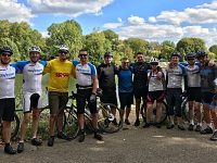 Tarporley colleagues complete London to Paris charity bike ride