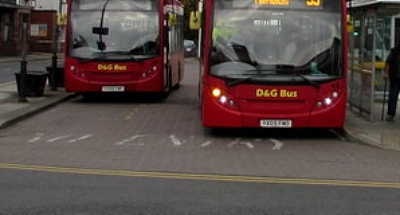 D&G bus in Nantwich - pic by Jaggery creative commons licence