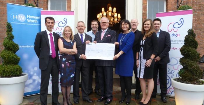 Dementia firm wins Dabbers Den Winners 2015 photo for press