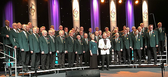 Daleian Singers Male Voice Choir to perform in Cheshire