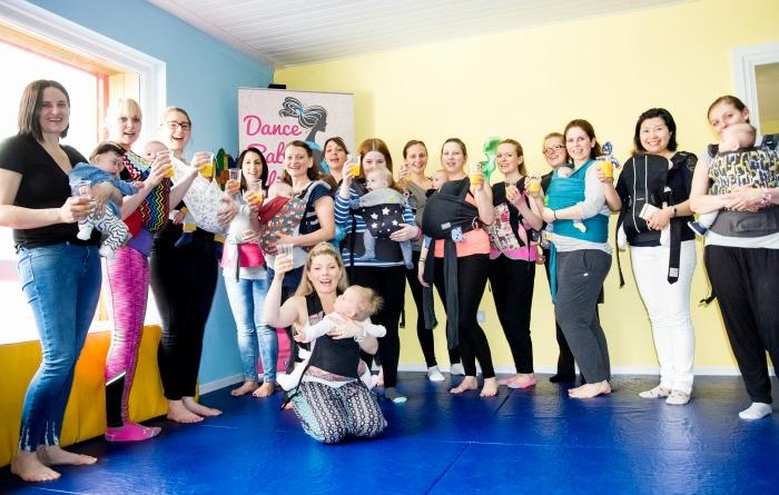Dance Baby Sling launch in Nantwich