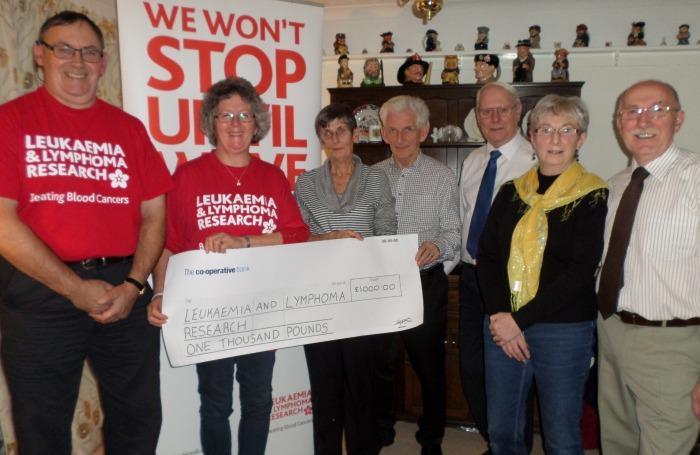 Nantwich Dancers raise money for Leukaemia and Lymphoma Research