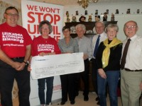 Nantwich Saturday Night Dancers raise £1,000 for leukaemia research