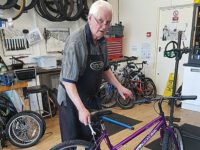 Shavington pensioner, 74, lands job as cycle mechanic in Crewe