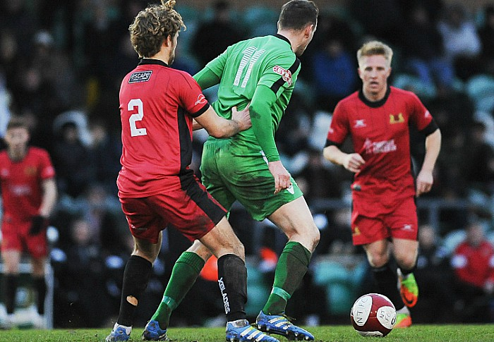 David Forbes, Nantwich Town v Mickleover Sports
