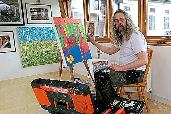 David Jewkes - painting exhibition