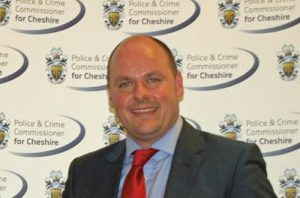 David Keane, cheshire police crime commissioner