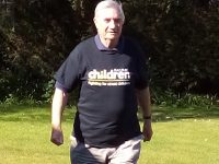 Nantwich charity founder, 82, follows in Captain Tom's footsteps!