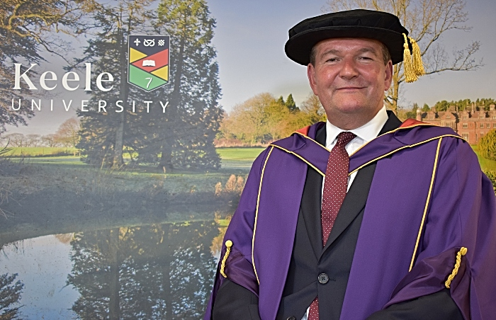 David Pearson MBE - honorary graduate