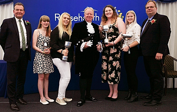 David Pearson, Sophie Tanner, Cerys Owen, Mark Mitchell High Sheriff of Cheshire, Lisa Trodden, Lucienne Newell, Marcus Clinton