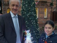Nantwich youngster wins competition to switch on Christmas Lights