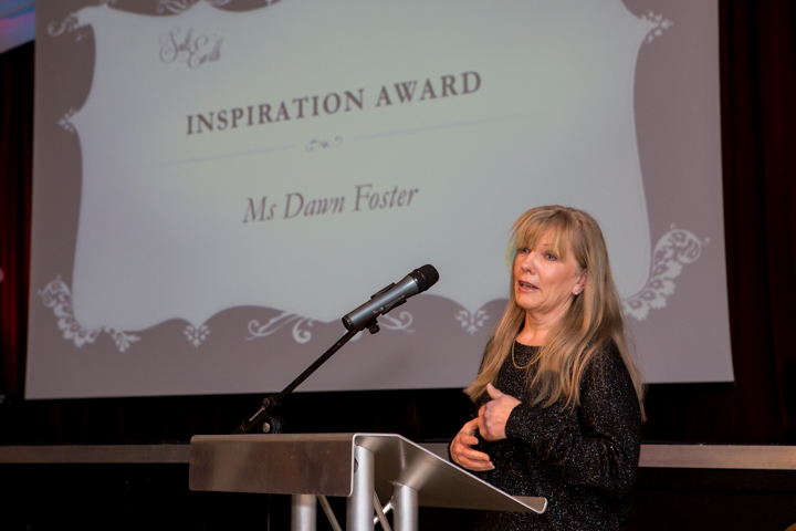 Dawn foster inspiration award salt of the earth
