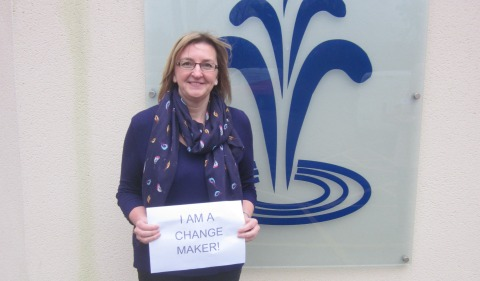 """Wrenbury woman one of St Luke's Hospice first """"change makers"""""""