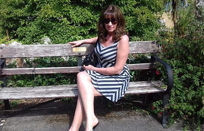 Hit by speeding driver Lewis - Deborah Leat, 52, from Crewe