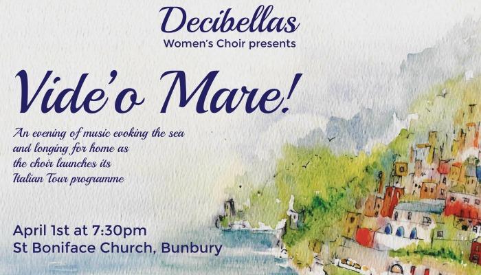Decibellas choir bunbury concert