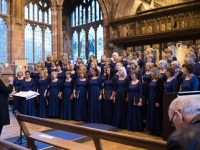 Tarporley Decibellas choir launch Italian Tour programme