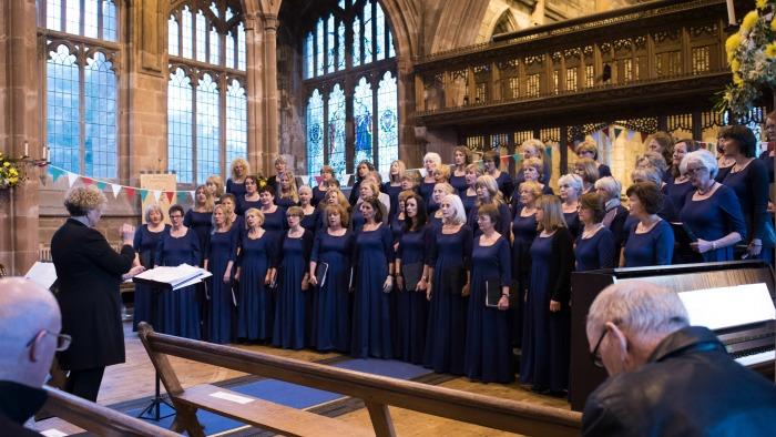 Decibellas choir tour