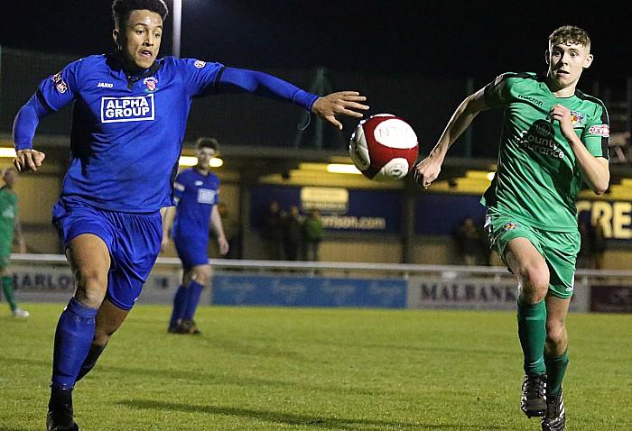 Declan O Riordan eyes the ball for the Dabbers