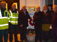 Defibrillator installed in Wistaston after Baker Wynne & Wilson grant