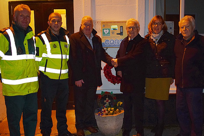 Defibrillator is officially opened for use