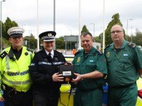 Defibrillators donation boosts Cheshire road safety