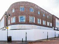 Demolition of vacant Crewe Royal Arcade units begins