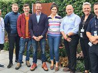 "Reaseheath College ""cyber crime"" garden earns praise at RHS Flower Show"
