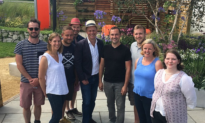 Design and build team with Joe Swift