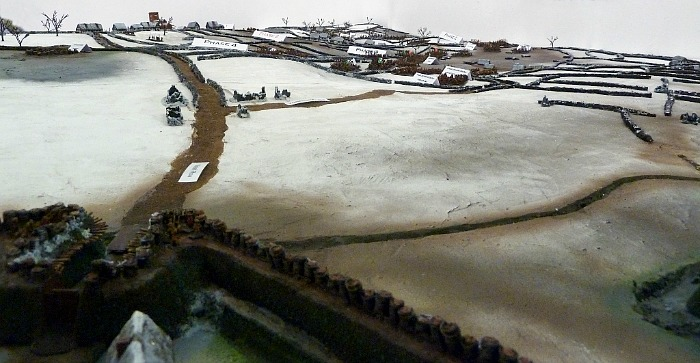 Detail from the Nantwich Museum Battle of Nantwich model