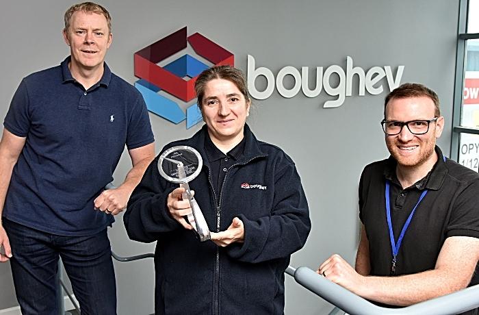 Dimka Ivanova - boughey driver wins award