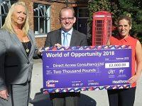 "Nantwich firm wins Heathrow ""World of Opportunity"" grant programme"